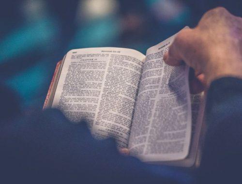 Biblia, modlitwa