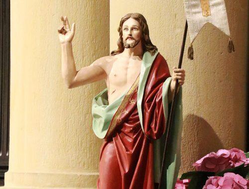 Zmartwychwstały, Jezus
